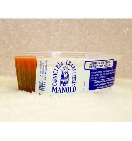 Manteca Colorá de Hígado de Carnicería Manolo